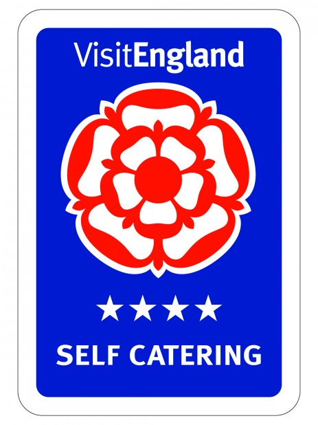 VisitEngland 4-star rating sign
