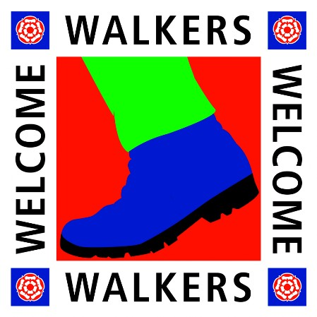 Walkers Welcome sign